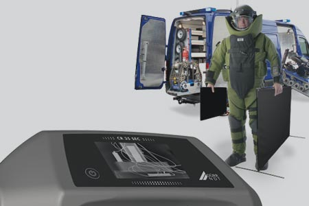 Computer Radiographie EOD Scanner
